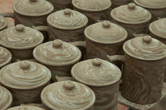 An Chongqing Rongchang pottery studio pottery museum Rongchang Tao blank Royalty Free Stock Photography
