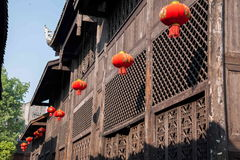 Chongqing Rongchang Road Hole-het Theater van stadshuguang stock fotografie