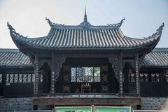 Chongqing Rongchang Road Hole town Huguang Theater Stock Image