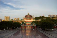Chongqing ` s audytorium ludzie fotografia stock