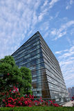 Chongqing Science and Technology Museum glass wall Royalty Free Stock Images