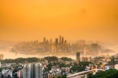 Chongqing Skyline lizenzfreie stockbilder