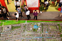 Chongqing Spring Real Estate Fair Image libre de droits