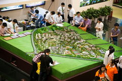 Chongqing Spring Real Estate Fair Image stock