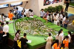Chongqing Spring Real Estate Fair Royalty Free Stock Photo
