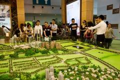 Chongqing Spring Real Estate Fair Royalty Free Stock Photos