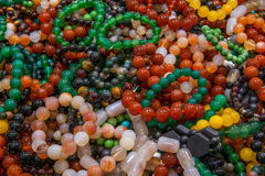 Chongqing Tea Expo show jade jewelry royalty free stock photo
