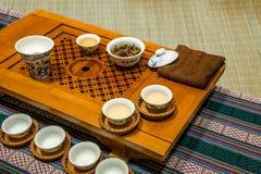 Chongqing tea Tea Expo show Stock Image