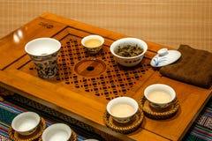 Chongqing tea Tea Expo show Royalty Free Stock Photos