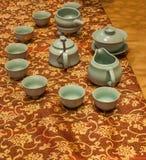 Chongqing tea Tea Expo show Stock Images