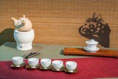 Chongqing tea Tea Expo show Stock Photos