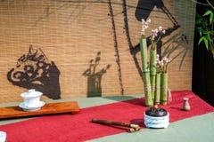 Chongqing tea Tea Expo show Royalty Free Stock Photography