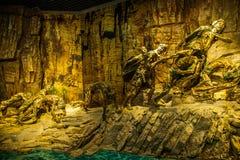 Chongqing Three Gorges Museum Three klyftamuseum av historieshowen den storartade Three Gorges för ` `en, Royaltyfri Fotografi