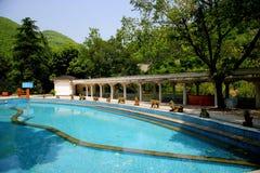 Chongqing tongjingzhen Hot Springs physical therap. Chongqing, China tongjingzhen Hot Springs with its hot springs and nature, hot springs and health as its Stock Photo