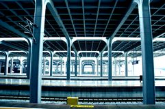Chongqing West Railway Station  Republic of China stock photos