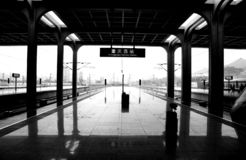 Chongqing West Railway Station Republic de la Chine image stock
