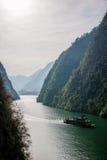 Chongqing Wushan Daning River Small Drie Klovenkloof Royalty-vrije Stock Fotografie