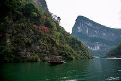 Chongqing Wushan Daning River Small Three Gorges Gorge Stock Image