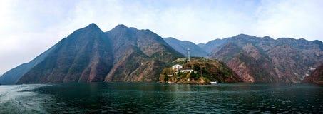 Chongqing Wushan Daning Trzy wąwozów Rzeczny Mały wąwóz Obraz Stock