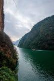 Chongqing Wushan Daning Trzy wąwozów Rzeczny Mały wąwóz Zdjęcie Royalty Free