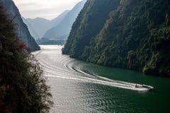 Chongqing Wushan Daning Trzy wąwozów Rzeczny Mały wąwóz Fotografia Royalty Free