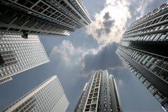 chongqing wysoki Nanping następny placu wzrost wanda Zdjęcie Royalty Free