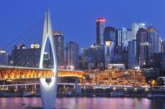 Chongqing Yuzhong Fotos de Stock