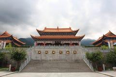 chongsheng ναός Στοκ Εικόνα