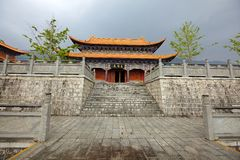 The chongsheng temple Stock Photography