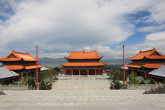 The chongsheng temple Stock Image