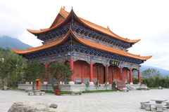 The chongsheng temple Stock Photo