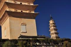 Chongsheng temple pagoda detail, Dali, China Stock Photo