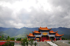 The Chongshengsi temple of royal Royalty Free Stock Photos