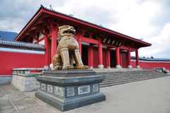 The Chongshengsi temple of royal Stock Photography