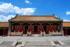 chongzheng qing朝代的宫殿 免版税库存照片