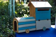 Choo-Choo drewna pociąg Zdjęcie Stock