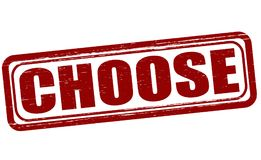 choose stock abbildung