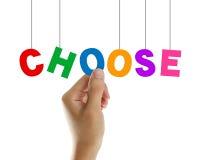 choose stockbilder