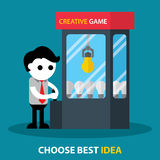 Choose best idea Royalty Free Stock Image