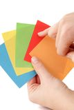 Choose A Color Royalty Free Stock Photos