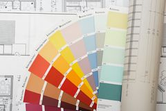 Choose color. From swatch Royalty Free Stock Photography