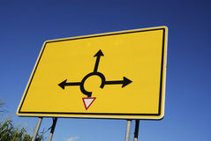 Choose direction Royalty Free Stock Photo