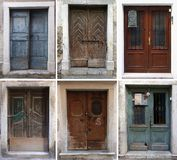 Choose the door Royalty Free Stock Photo