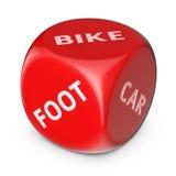 Choose eco transport Royalty Free Stock Image