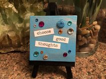 Choose Good Thoughts Stock Photos