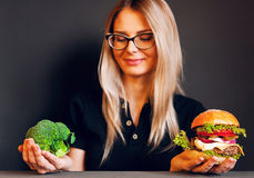 Choose a healthy lifestyle Royalty Free Stock Photo