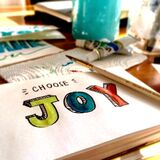 Choose joy Stock Photos