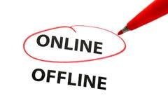 Choose online Stock Photo