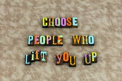 Choose people happy happiness life vector illustration