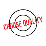 Choose Quality rubber stamp Royalty Free Stock Photo